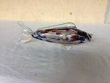 scultura pesce vetro MURANO carpa lavorazione artistica anni 60 vintage