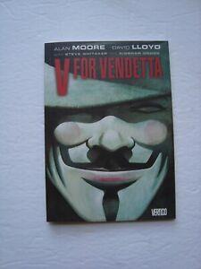 Comic Graphic Novel V for Vendetta Alan Moore David Lloyd