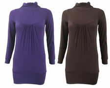 Viscose Long Sleeve Unbranded Regular T-Shirts for Women