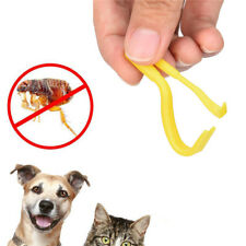 Lot de 2 crochets tire tique / set 2 tick remover  animaux / Homme chien chat