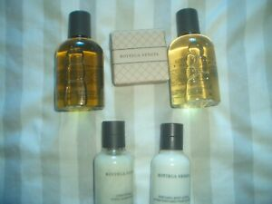 Bottega Veneta Luxury Set Shampoo 100ml/Shower Gel 100ml/Conditioner/Lotion/Soap
