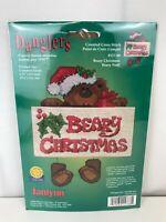 Janlynn Christmas Bear Danglers Counted Cross Stitch Kit Beary Christmas 157-88