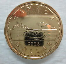 2006 CANADA LOONIE PROOF-LIKE ONE DOLLAR COIN NO LOGO