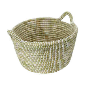 New Extra Large White Coil Basket A Simple Yet Stylish Basket Perfect 2021 T