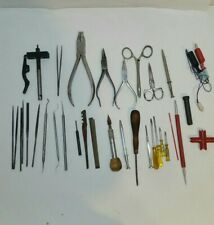 Vintage Model Train Tools Lot! For Hobby Trains, Cars, etc. Estate find!! NICE