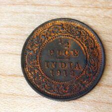 1912 India 1/2 Pice