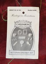 CRYSNBON Heritage in Miniatures Minikit No.M-160 Victorian Dresser Set
