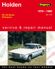 Holden HX & HZ V8 Model Workshop Repair Manual with MPN GAP04178