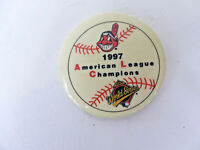 Cleveland Indians 1997 American League Champions Pin Back Button World Series