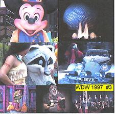 ALL NEW DISNEYWORLD 1997  #3  Hunchback, Little Mermaid +