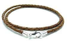 Cadenas, collares y colgantes color principal marrón para hombre
