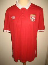 Serbia Serbska home NEW football shirt soccer jersey voetbal trikot size XL