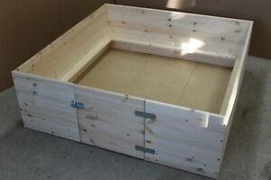 Wurfbox Welpenbox Wurfkiste Hunde Katzen Boden Welpenschutzleisten Schlafplatz