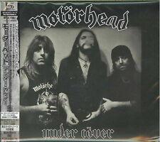 2XL XL MOTORHEAD cd cvr UNDER COVER Group Photo Official SHIRT New lemmy L