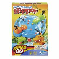 Hungry Hungry Hippos Grab & Go Edition - Brand New