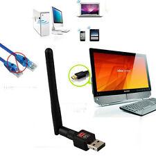 Wireless 150Mbit Mini WiFi Antenne Wlan Adapter USB Stick 802.11b/g/n Dongle