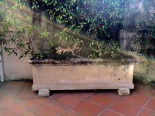 Classic style sandstone garden trough, planter box / pot