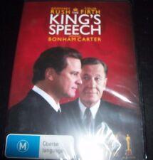 The King's Speech (Geoffrey Rush Colin Firth) (Australia Region 4) DVD – New