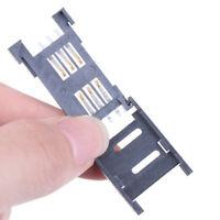 10PCS SIM Card Holder 6PIN Card Socket SIM Card Slot Connector for Phone VV