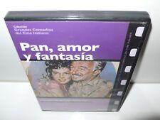 pan amor y fantasia - lollobrigida - de sica - dvd
