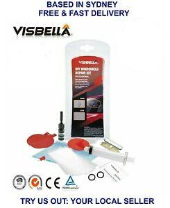 Visbella Windscreen Repair Kit Windshield Repair Glass Cracks Tool Glue DIY Fix