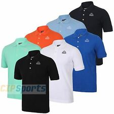 Kappa Mens Omini Pure Pique Cotton Sports Polo Shirt Casual Golf T-shirt Top New