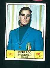 Figurina Campioni dello Sport Panini 1968-69 n.340! Mussner Sci Italia Nuova!!