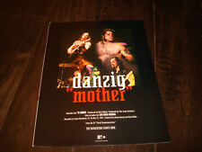 DANZIG 1993 ad with Glenn Danzig shirtless, Tommy Victor, Johnny Kelly