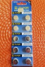 303 .Expires 2023 Free Shipping ! 10 Pc's Watch Batteries Ag13 Lr44 357.