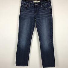 Abercrombie & Fitch Womens Jeans Crop Capri Perfect Stretch Sz 4 w 27