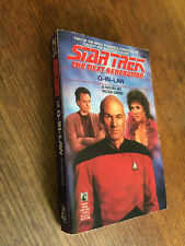 Star Trek The Next Generation - Q in Law by Peter David paperback