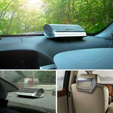 Car Air Purifier Ionizer Auto Freshener Cleaner Fresh Ozone With HEPA Filter