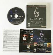 Resident Evil 6 Anthology (Sony PlayStation 3 2012) PS3 CODES NOT GUARANTEED