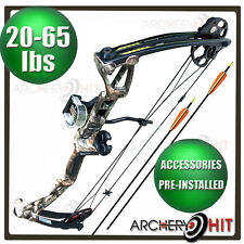 20-65lb Rex Compound Bow Archery Package