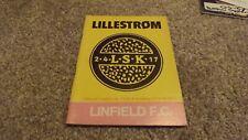27/9/1978 LILLESTROM V LINFIELD EUR CUP