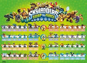 Skylanders Swap Force Figures Buy 4 get 2 FREE! Free Shipping $6 Minimum