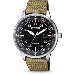 Citizen Aviator Men's Eco Drive Watch - BM7390-14E NEW