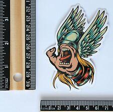 Thor x Screaming Hand skateboard decal vinyl sticker #2622