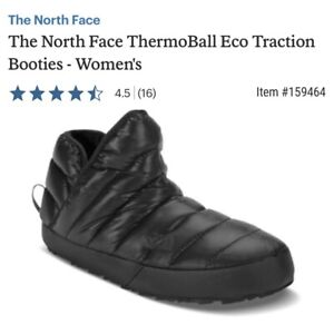 The North Face Sz 5? 6 Thermoball Eco Traction Water Resistant Bootie Insulated