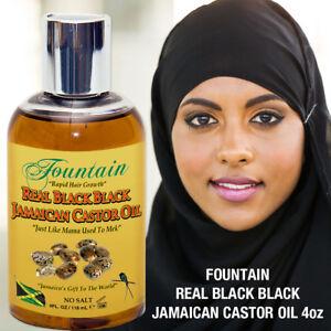 Natural Jamaican Hair Growth Scalp Treatment Black Castor Oil Eyelash & Brow Oil