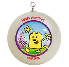 Personalized Wow Wow Wubbzy Christmas Ornament Add Name