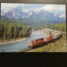 """Sure lox Mountain and Train Puzzle 500 Pieces 19""""x14"""""""