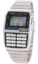 CASIO DATABANK DBC1500 WATCH CALCULATOR (150 MEMORY) CHROME VERSION OF DBC150