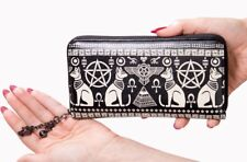 Banned Apparel Anubis Ancient Egyptian Symbols Sphynx Punk Gothic Wallet WT1478