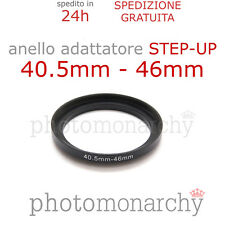Anello STEP-UP adattatore da 40.5mm a 46mm filtro - STEP UP adapter ring 40.5 46