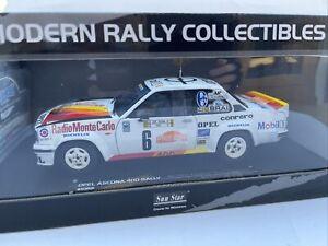 Opel Ascona 400 die cast model rally car San Remo 1981 1:18th scale SUNSTAR 5358