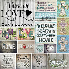 Full Drill Family Love Home 5D Diamond Painting Cross Stitch Embroidery Crafts
