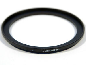 72-82mm Metal Step Up Ring Lens Adapter from 72 to 82mm Filter Thread UK SELLER