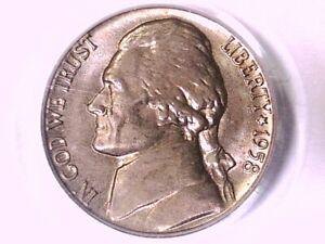 1958 D Jefferson Nickel PCGS MS 65 FS 19208665