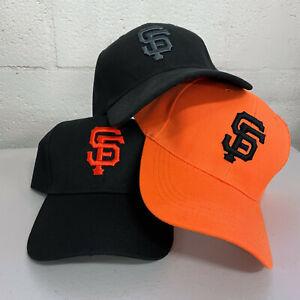 San Francisco Giants Cap Hat Embroidered SF Adjustable Curved Men